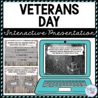 Veterans Day Interactive Google Slides™ Presentation picture