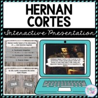 Hernan Cortes Interactive Google Slides™ Presentation | Distance Learning