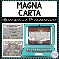 Magna Carta Interactive Google Slides™ Presentation