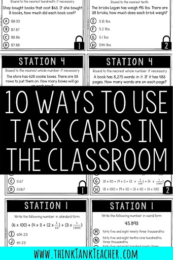 task cards in the classroom blog pic