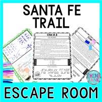 Santa Fe Trail Escape Room Activity