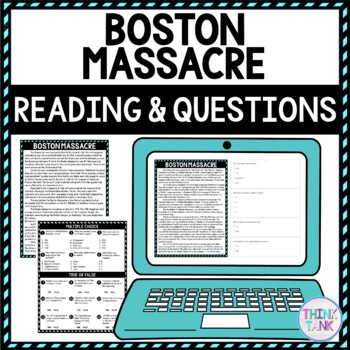 Boston Massacre Educational activity