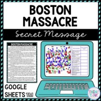 Boston Massacre educational assignment