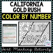 California Gold Rush Activity