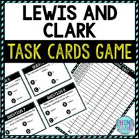 Lewis and Clark learning activity