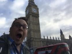 Luke in London (Big Ben)