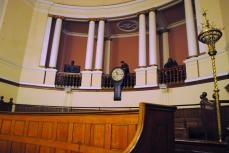 View from the witness boxes (to the back)