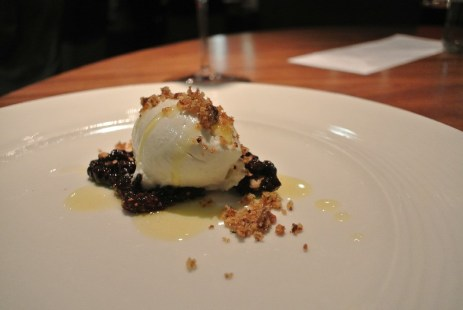 Brioche - goat cheese, fig, candied walnuts, honey butter