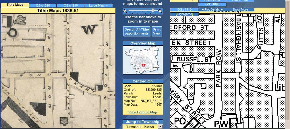 leed tithe map application