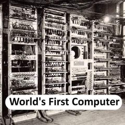World's first Computer - thinkwitty.com