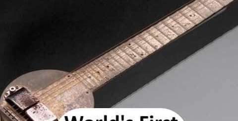 World's first Guitar - thinkwitty.com