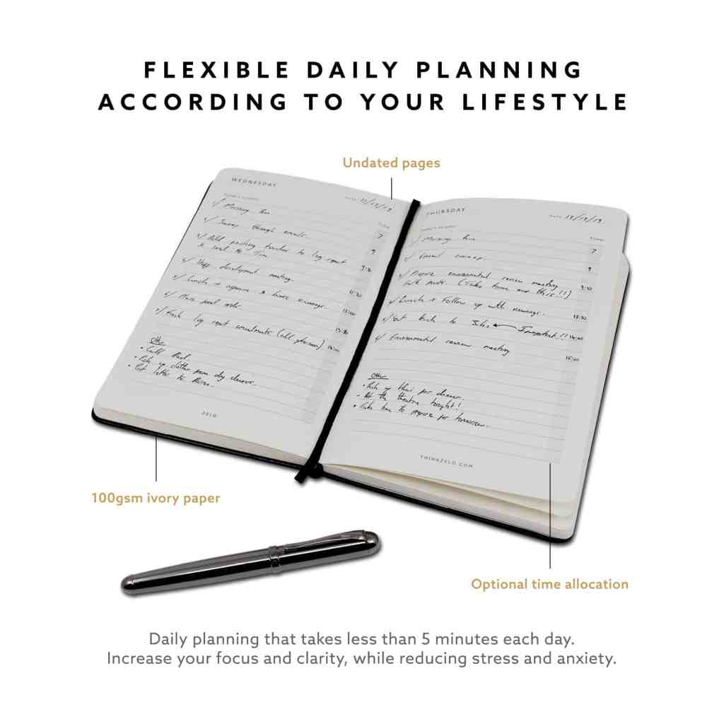 Plan your days. Achieve your ambitions.