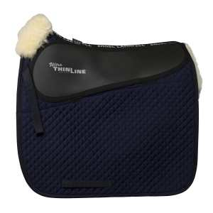 ThinLine Dressage Full Sheepskin Saddle Pad Navy