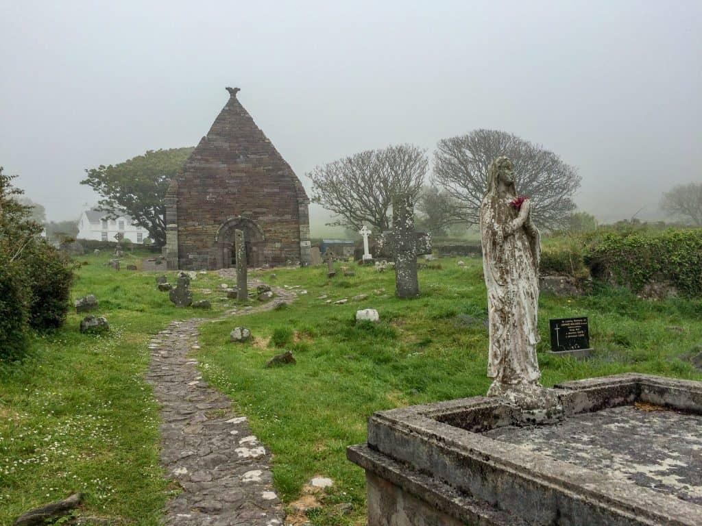 Kilmalkader Church in Dingle