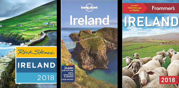 Top 3 Ireland Guide Books for 2018