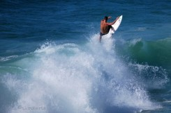 surfer in Gulf of Mexico