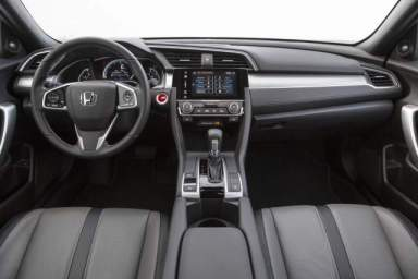 Clean, neat and airy the Civic's
