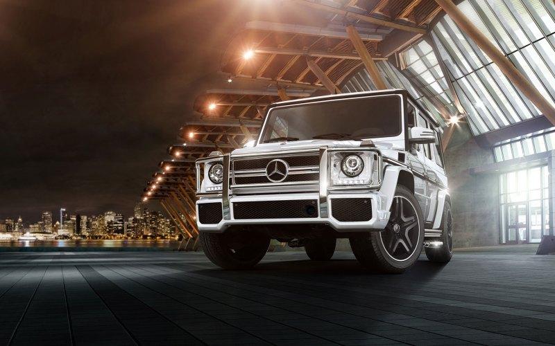 2018 Mercedes-Benz G-Class (AKA G-Wagen)