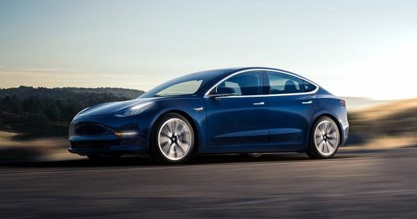 2018 Tesla Model 3 exterior