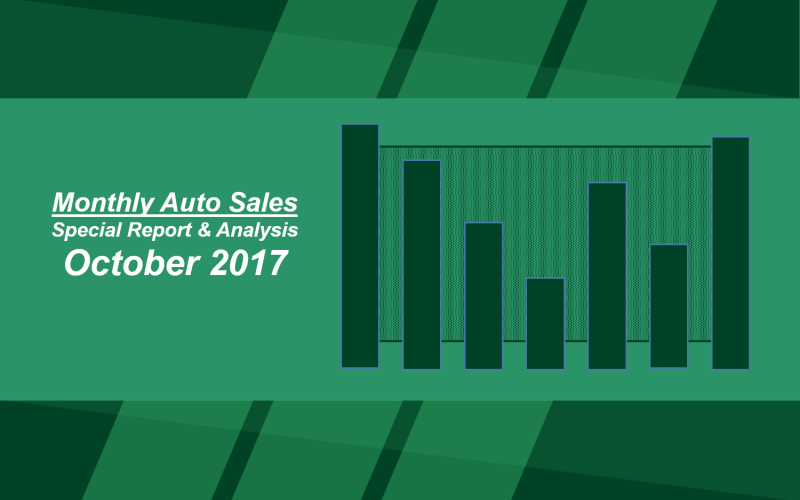 Monthly Sales Results: October 2017