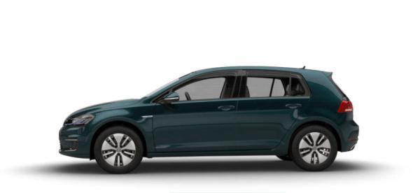 2018 Volkswagen e-Golf exterior