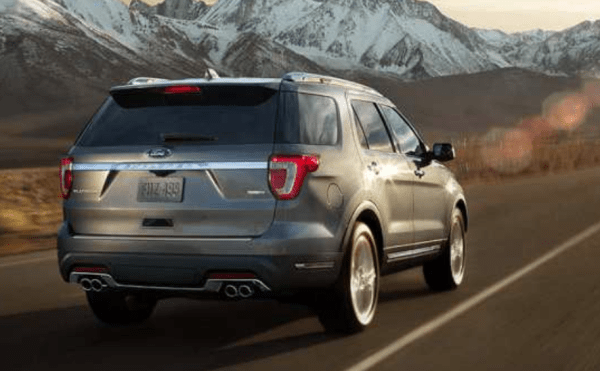 2018 Ford Explorer Quad Exhaust Tips
