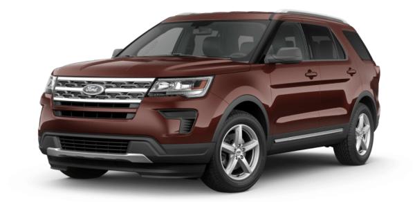 2018 Ford Explorer exterior
