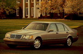 Mercedes-Benz W140 exterior