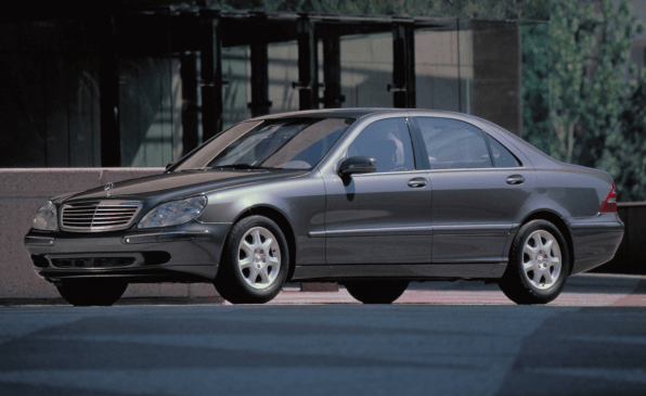 W220 exterior front