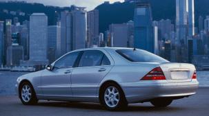 W220 exterior rear