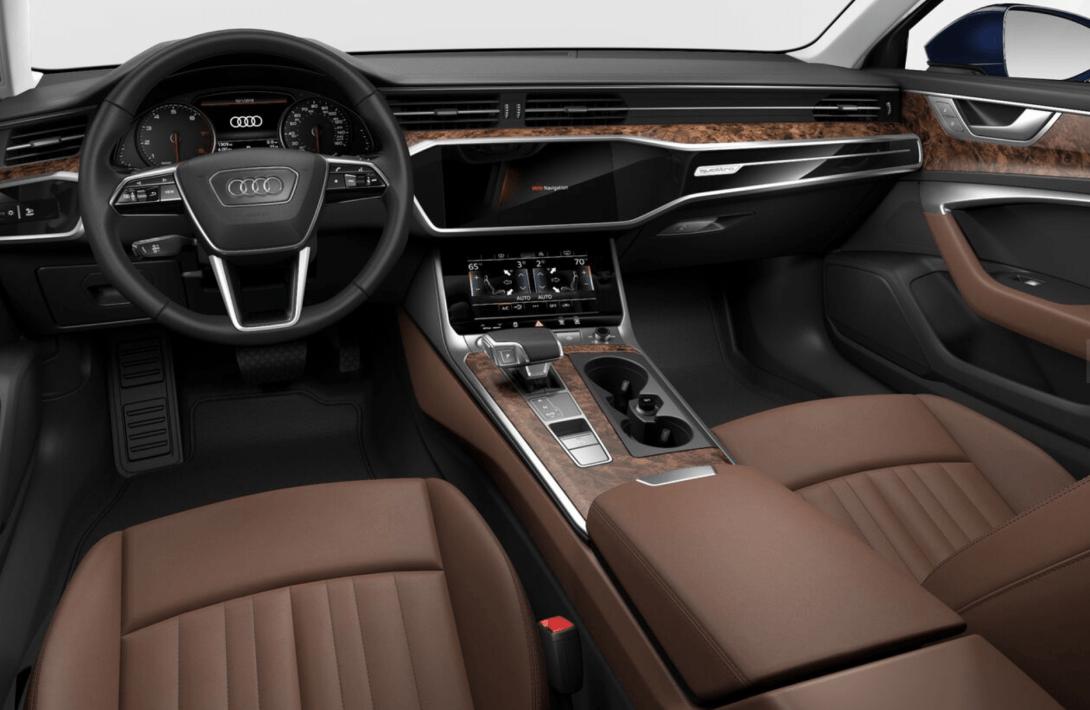 2019 Audi A6 interior