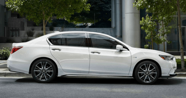 2019 Acura RLX exterior side