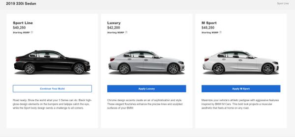 2019 BMW 3 Series Designs