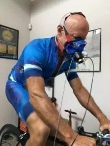 Cycling VO2 max test