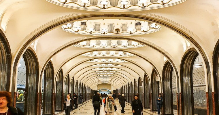 Explore 7 of Moscow's Most Beautiful Metro Stations