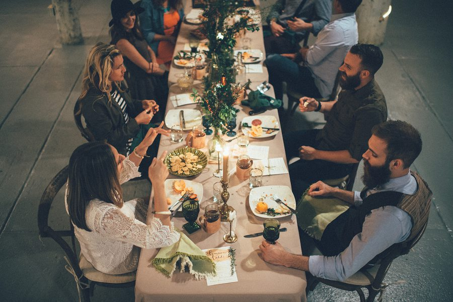 The Common Table at Historic Seven Sycamores Ranch   Visalia Photographer