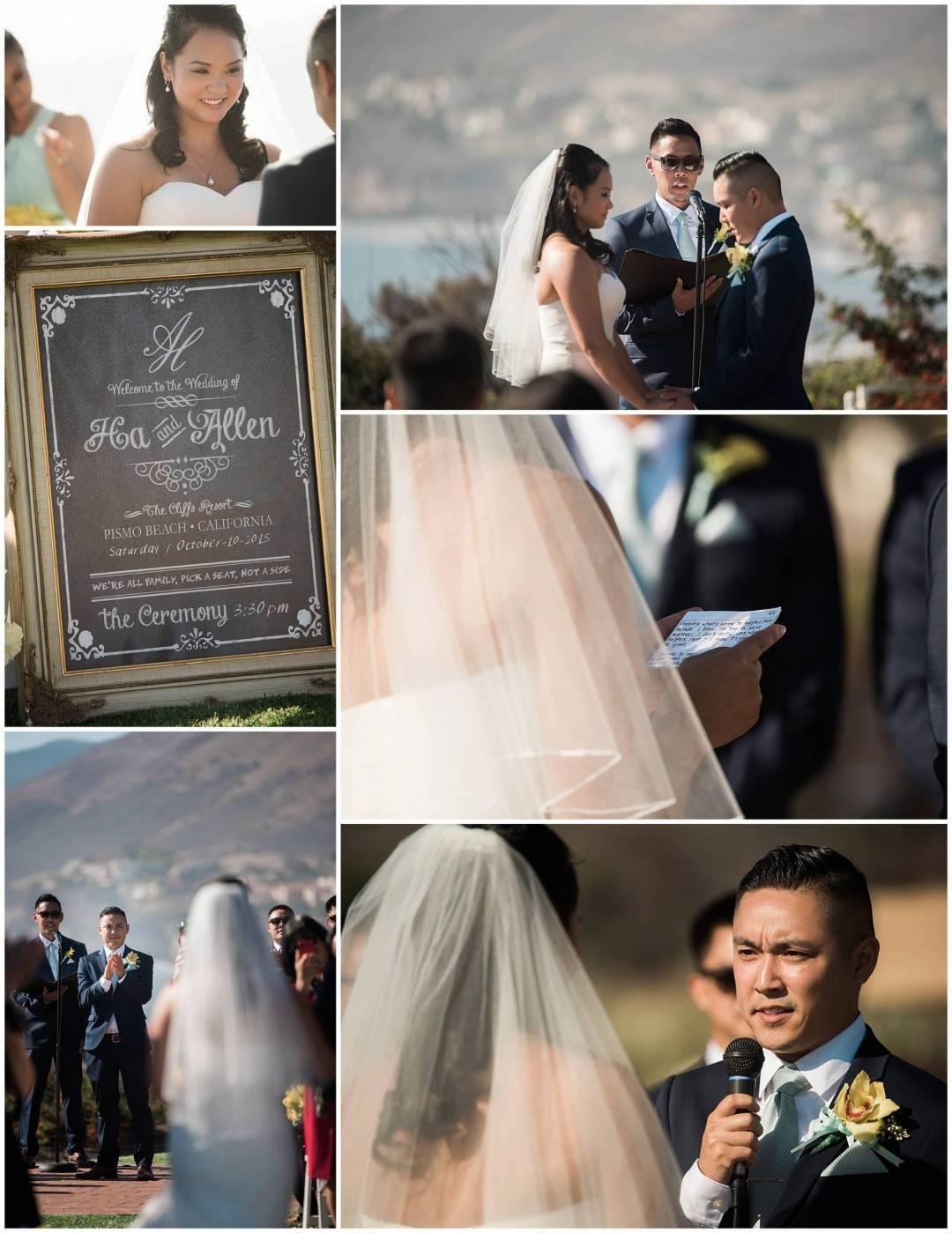 Ha & Allen Wedding Third Element Photography & Cinema Pismo Beach Cliffs Resort Central Coast Hybrid Film Wedding Photographer_0025