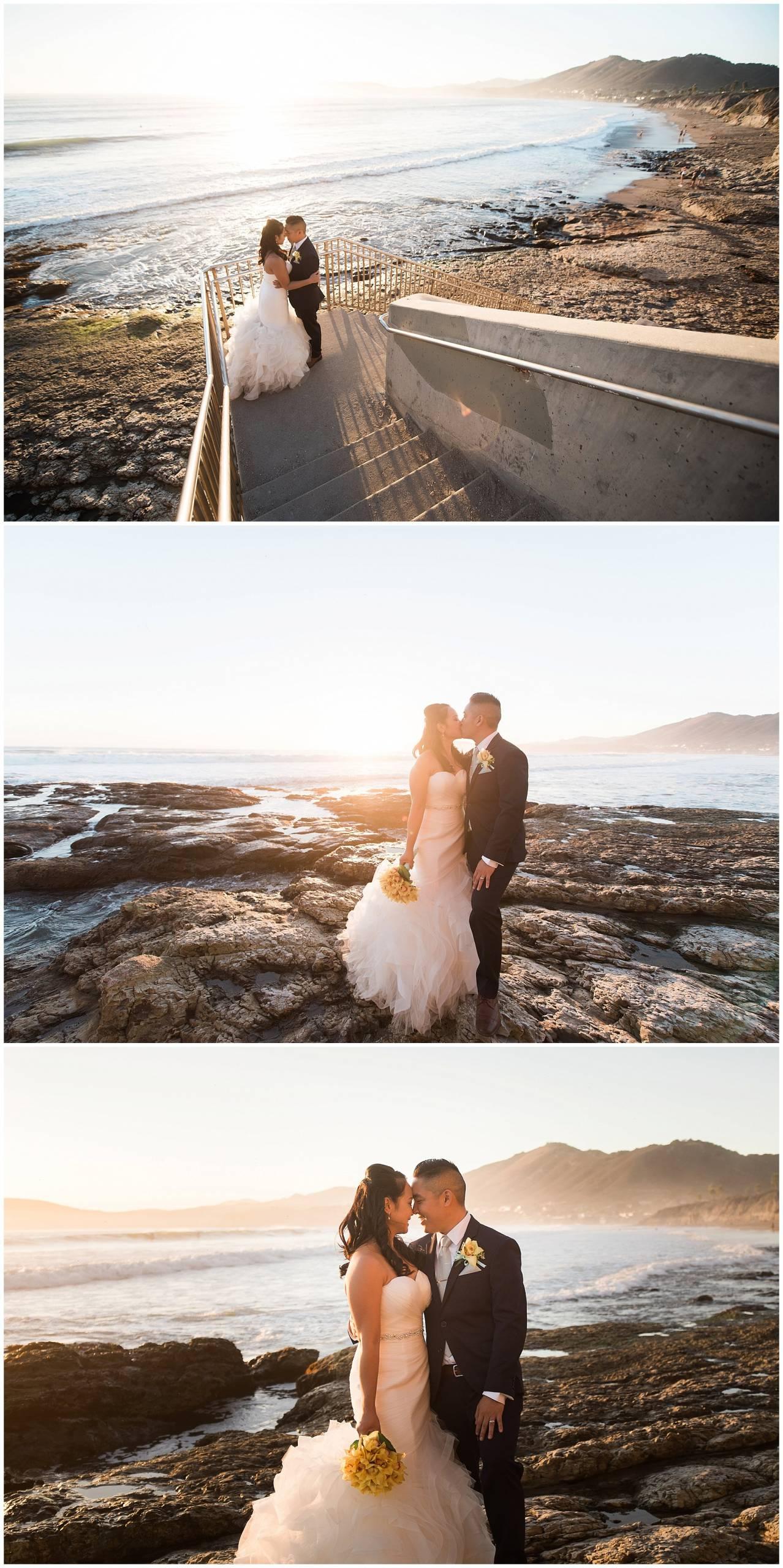 Ha & Allen Wedding Third Element Photography & Cinema Pismo Beach Cliffs Resort Central Coast Hybrid Film Wedding Photographer_0033