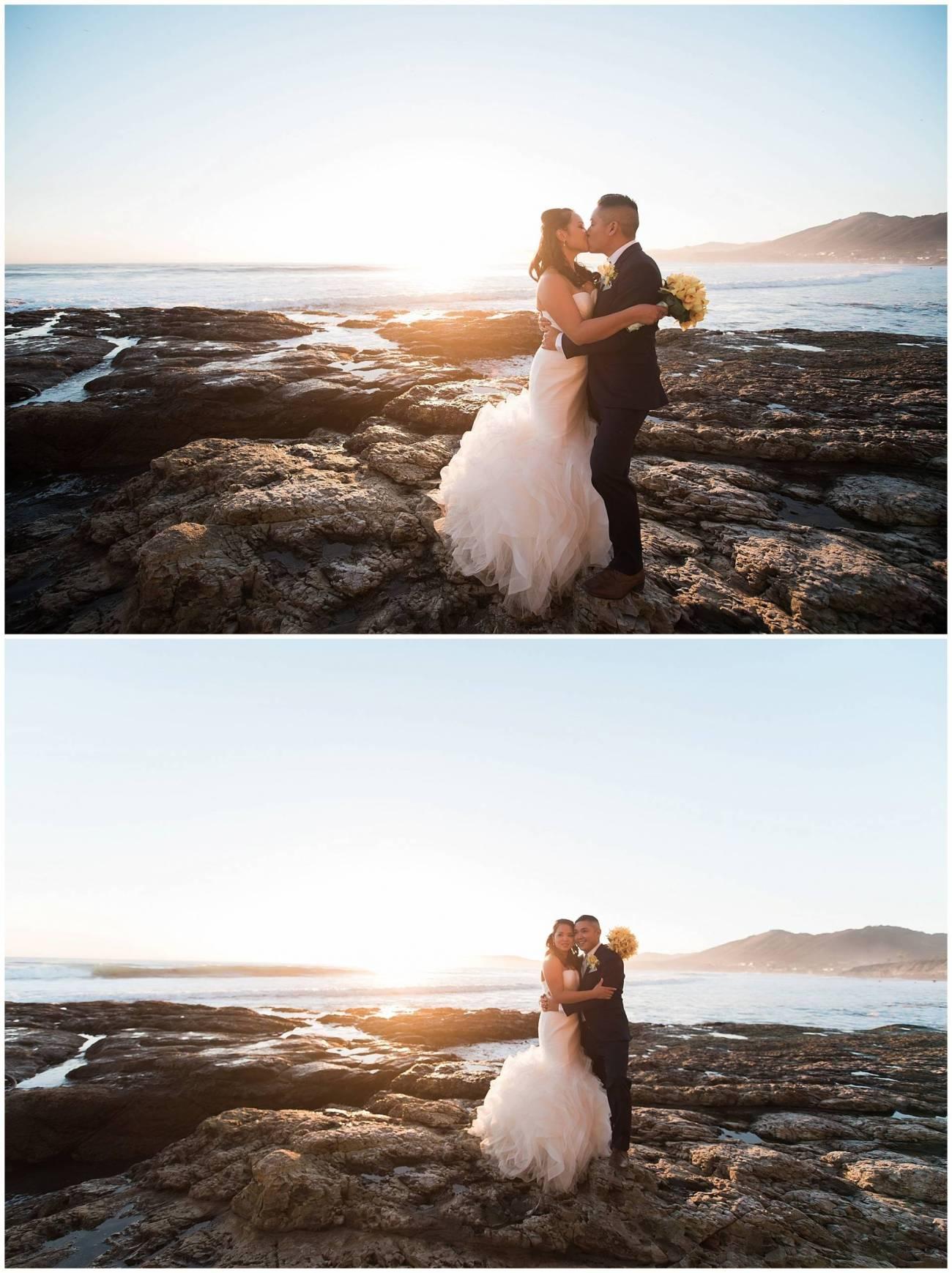 Ha & Allen Wedding Third Element Photography & Cinema Pismo Beach Cliffs Resort Central Coast Hybrid Film Wedding Photographer_0034