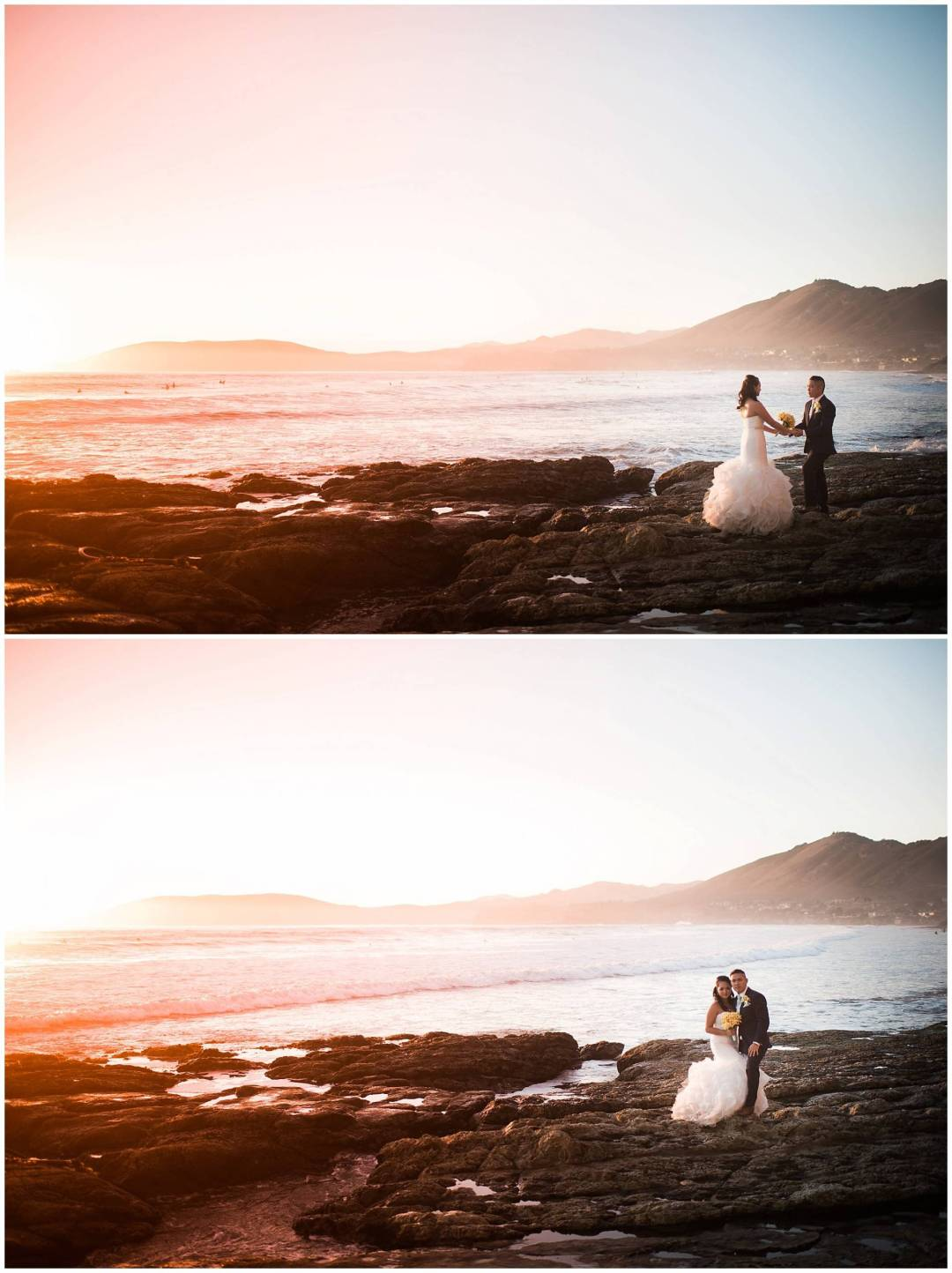 Ha & Allen Wedding Third Element Photography & Cinema Pismo Beach Cliffs Resort Central Coast Hybrid Film Wedding Photographer_0035