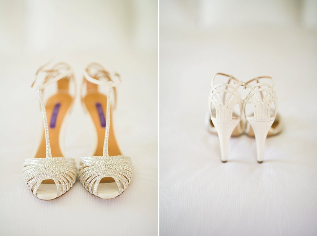 Ralph Lauren Custom Bride Shoes