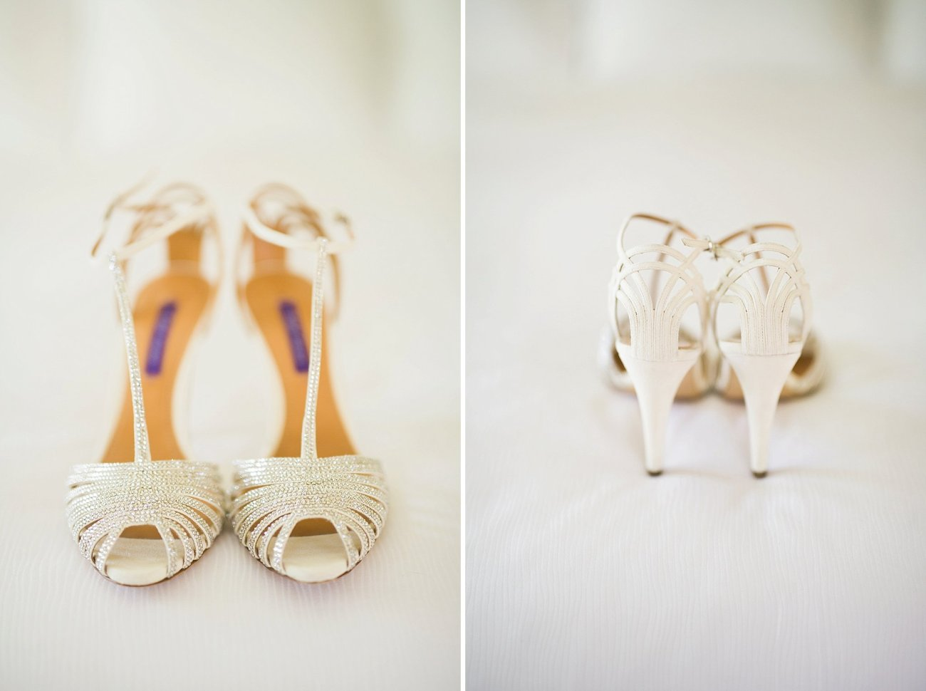 Ralph Lauren Custom Bride Shoes