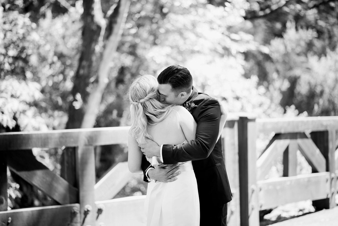 Calistoga Ranch Wedding Photos First Look