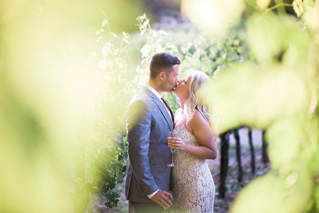Napa Engagement Photo