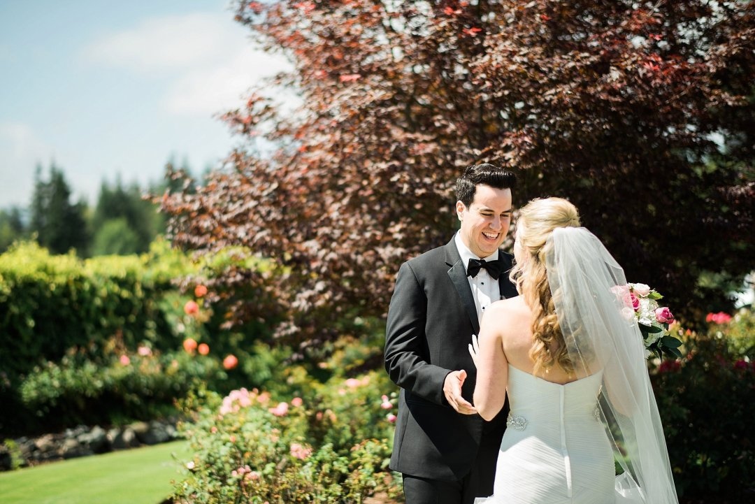 Christine & Josh Seattle Washington Snoqualmie Ridge Country Club Wedding_0020