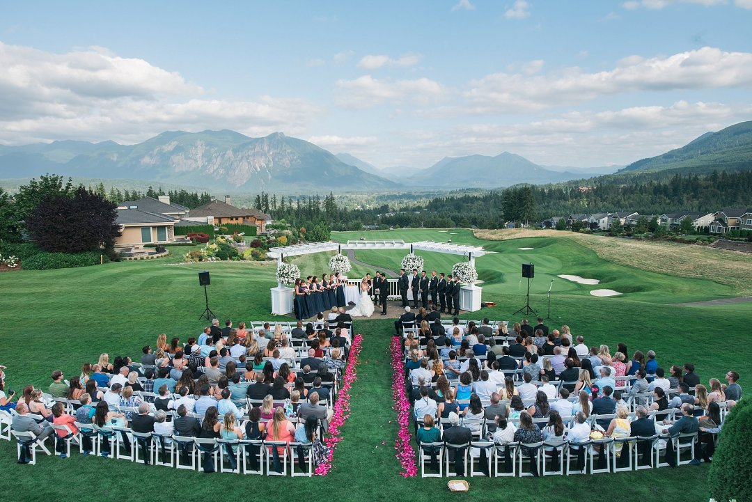 Christine & Josh Seattle Washington Snoqualmie Ridge Country Club Wedding_0061