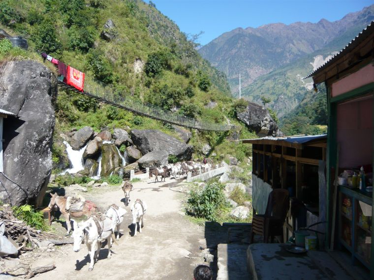 Villages along the Annapurna Trek