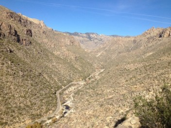 Phoneline Trail, Sabino Canyon, Tucson, Arizona