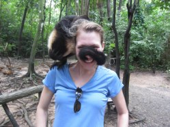 Monkey love in Honduras