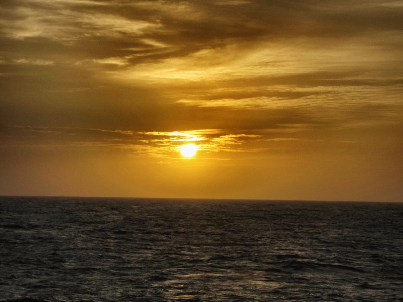 Sunset in Roatan, Honduras